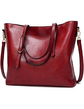 TcIFE Damen Handtaschen Umhängetasche Taschen Handtasche Shopper