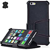 "MANNA UltraSlim iPhone 6 4.7' Case Protective Cover Wallet | EasyStand | Finest Nappa Leather ""Astana"" 
