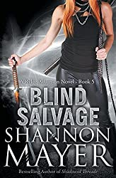 Blind Salvage: A Rylee Adamson Novel by Shannon Mayer (2013-11-29)