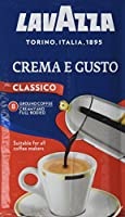 Lavazza Crema e Gusto Ground Coffee, 250 g, Pack of 8