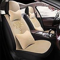 Funda de asiento de coche Protector de asiento de Cojín para el asiento del automóvil: