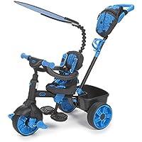Little Tikes 634338E4 - Triciclo para niños, color negro/ azul