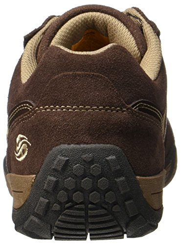 Dockers by Gerli Herren 38mi014-204371 Sneaker Braun (Schoko/hellbraun)