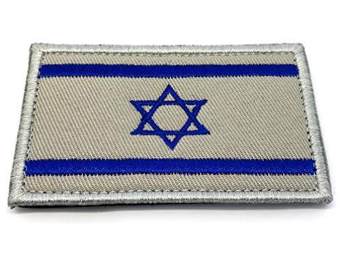 Israël Israélienne Blanc cassé Drapeau brodé Airsoft Paintball Patch