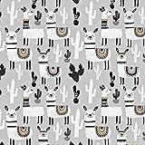Pingianer 100x160cm 100% Baumwolle Lama Alpaka