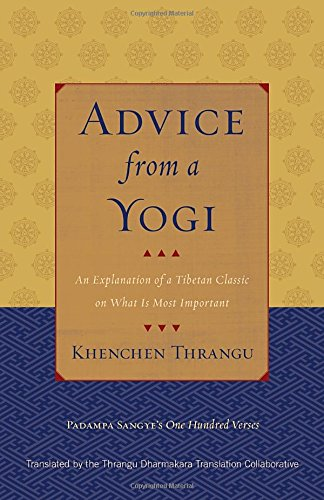 Advice from a Yogi: An Explanation of a Tibetan Classic on What is Most Important por Padampa Sangye, Khenchen Thrangu