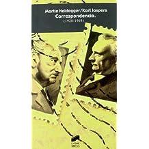 Martín Heidegger, Karl Jaspers: correspondencia (1920-1963) (Perspectivas)