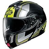 Shoei Neotec Imminent Flip Front Motorcycle Helmet XL Black Yellow (TC-3)