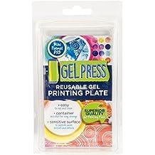 Gel Press - Placa de monoimpresión reutilizable - Gel - 7,6 x 12,7 cm