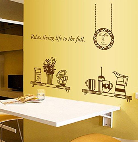 Ufengke personalizzato vasellame da cucina adesivi murali - Decorazioni pareti cucina ...