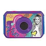 Violetta Lexibook DJA400VI - Videocamera Digitale 5MP Disney, Schermo LCD, Accessori di Fissaggio, Caso Impermeabile, Viola