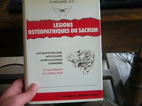Lésions ostéopathiques du sacrum