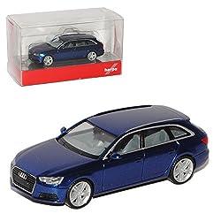 Herpa 1:87 met.-grau Modellauto Fertigmodell Audi A4 Avant Allroad