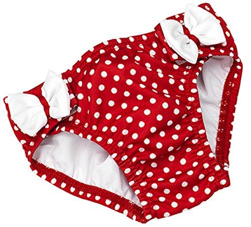 Fashy Baby Mein Badewindelhöschen, rot/weiß, 74/80, 1570 04