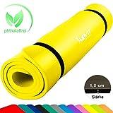 MOVIT XXL Pilates Gymnastikmatte, Yogamatte, phthalatfrei, SGS geprüft, 190 x 100 x 1,5cm oder 190 x 60 x 1,5cm, in 12 unterschiedlichen Farben