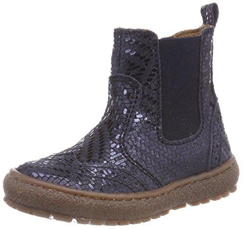 Bisgaard Mädchen 50702218 Chelsea Boots, Blau (623 Navy Metal), 34 EU