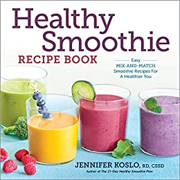 Fruit and veggie smoothie recipe book