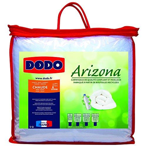 Dodo 29443 Arizona Couette Chaude Polyester Blanc 260 x 240 cm