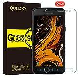 QULLOO per Samsung Galaxy Xcover 4S / 4 Vetro Temperato Pellicola Protettiva, [2 Pezzi] 9H Durezza Full Coverage Protezione Schermo in Vetro Temperato per Galaxy Xcover 4S / 4