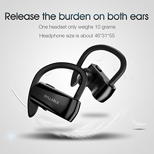 Auriculares Bluetooth, Syllable D15...