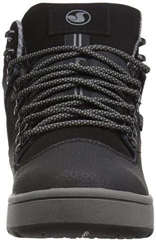 DVS Shoes Westridge Steel Toe, Chaussures de Skateboard Homme Black Leather Ferguson