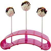 LZDseller01 Lollipop Support de Support en polystyrène pour gâteaux Pop Lollipop 3,5 mm, Rose Bonbon, Free Size
