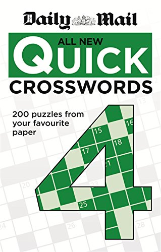 Daily Mail: All New Quick Crosswords 4 (The Daily Mail Puzzle Books)