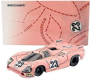 """Minichamps 180716922 """"Porsche 917/20 Kauhsen/Joest 24h Le Mans 1971 1st Practice - Modelos fundidos, Escala 1:18"""
