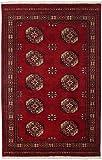 Nain Trading Pakistan Buchara 3ply 209x143 Orientteppich Teppich Dunkelbraun/Dunkelrot Handgeknüpft Pakistan