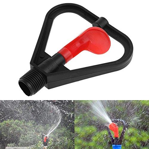 Jiamins 1/2DN15Kunststoff Bewässerung Sprinkler Düse 360° Automatische Wasser Spray für Garten Torrontes -