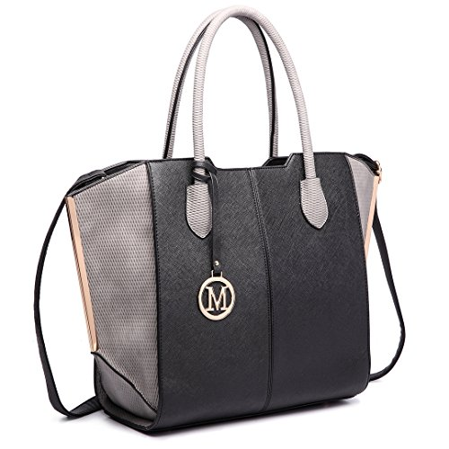Miss Lulu ,  Damen Tasche 6625 Black