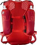 Salomon, Leichter Lauf-Rucksack 12L, AGILE 12 SET, Rot (Fiery Red), LC1092700