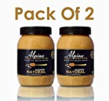 #6: Alpino Natural Peanut Butter Smooth 1kg (Unsweetened) (Pack of 2)