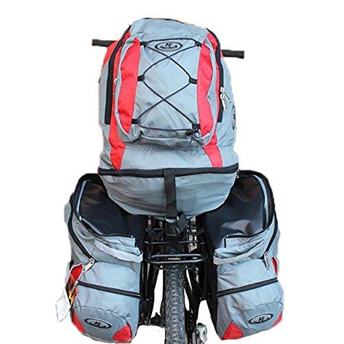 ~ Desmontable Tres En Uno 68L Lager Capacidad De Bicicletas Mochila