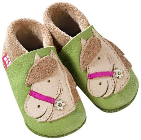 Pololo 121113-2021, Chaussures Bébé quatre pattes (1-10 mois) Mixte Enfant Vert (pistazie/sand)
