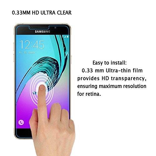 NONOAL Compatible avec Film Verre tremp/é Iphone 5 5S 5C Se