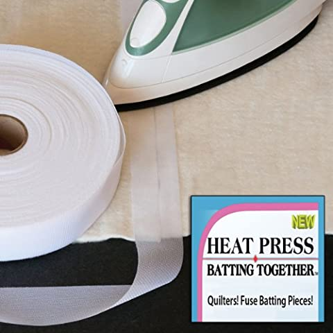Heat Press Batting Batting Together, 3,81 cm x (1,5