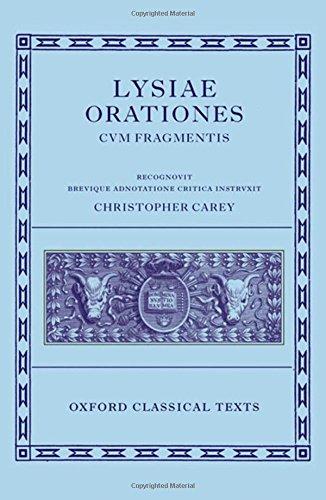 Lysiae Orationes cum Fragmentis