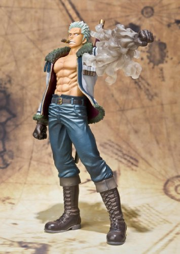 "Bandai Tamashii Nations Figuarts Zero Smoker ""One Piece"" (Static Figure) [Toy] (japan import) 4"