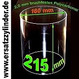 Cristal de recambio (policarbonato), 215x 160mm