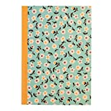 A5 Lined Exercise Notebook - Choice Of Design ( Daisy )