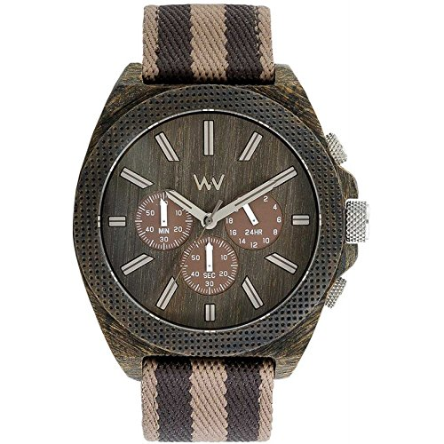 WEWOOD PHOENIX CHRONO WENGE EARTH Holzuhr, Limited Edition - 2