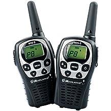 Midland M99S PMR 446 - Pareja Walkie-talkie, 99 canales