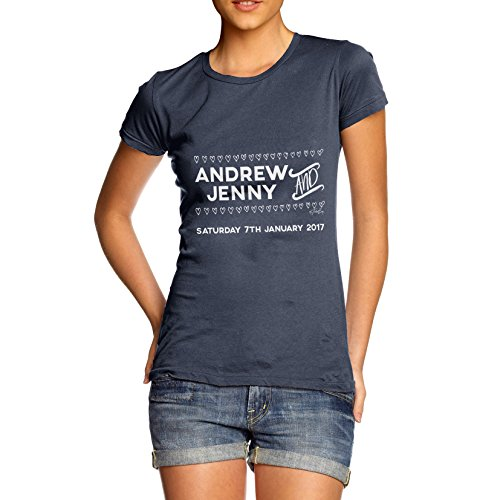 TWISTED ENVY  Damen T-Shirt Navy