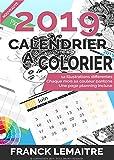 Calendrier 2019 à colorier: Thème les signes du zodiaque - Imprimez vos créations !...