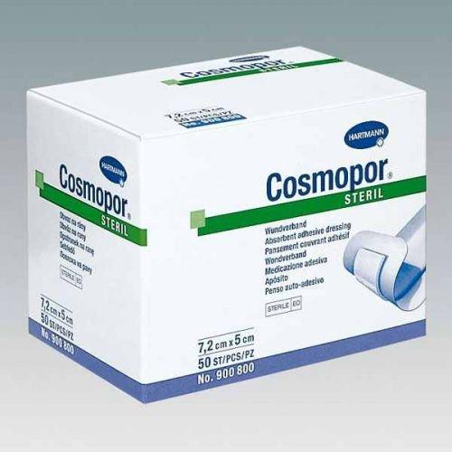 Cosmopor steril Hartmann 15 x 6 cm - Wundverband Wundverschlussmittel Wundverschluss Wundverband steril wundverband selbstklebend - Sterile Wundverschluss