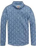 Scotch & Soda Shrunk Jungen Hemd Dress Shirt, Mehrfarbig (Combo B 22), 152 (Herstellergröße: 12)