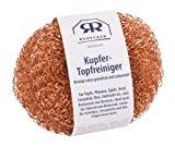 Bürstenhaus Redecker 250120 2 Kupfer-Topfreiniger, 7,5 cm / 20g