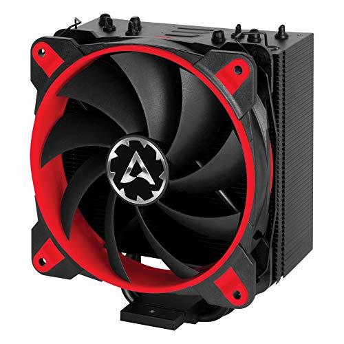 ARCTIC Freezer 33 eSports ONE - Tower CPU Luftkühler mit 120 mm PWM Prozessorlüfter für Intel und AMD Sockel - für CPUs bis 200 Watt TDP - Leiser und Effizienter Cooler (Rot)