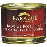Panache des Landes Bloc de Foie Gras de Canard IGP 190 g -